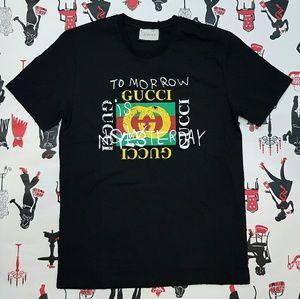 cbdda6550 Gucci Shirts | Men Shirt Tomorrow Yesterday Size Xxl | Poshmark